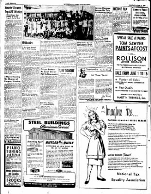 The Courier News from Blytheville, Arkansas on June 6, 1949 · Page 12