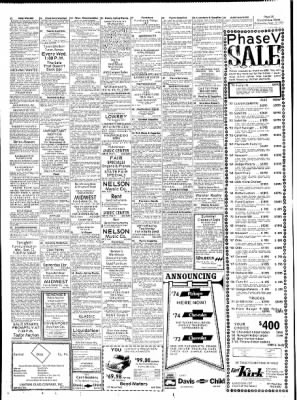 The Hutchinson News from Hutchinson, Kansas on September 12, 1973 · Page 31