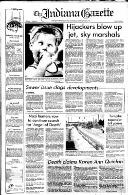 Indiana Gazette from Indiana, Pennsylvania on February 22, 1980 · Page 1