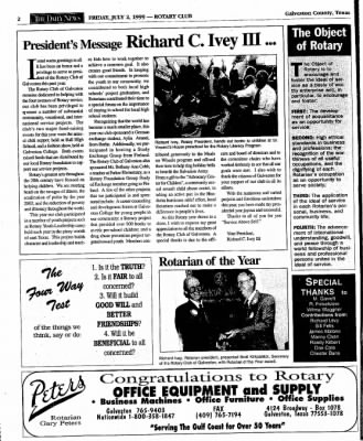 The Galveston Daily News from Galveston, Texas on July 2, 1999 · Page 46