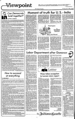 Indiana Gazette from Indiana, Pennsylvania on February 23, 1980 · Page 2