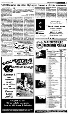 The Galveston Daily News from Galveston, Texas on July 4, 1999 · Page 20