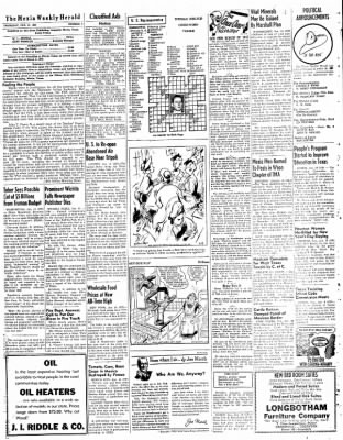 The Mexia Weekly Herald from Mexia, Texas on January 15, 1948 · Page 7