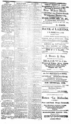 The Laredo Times from Laredo, Texas on August 15, 1892 · Page 3