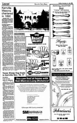 The Kerrville Times from Kerrville, Texas on November 10, 1991 · Page 3