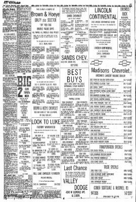 Arizona Republic from Phoenix, Arizona on September 22, 1968 · Page 88