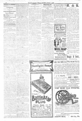 The Oil City Derrick from Oil City, Pennsylvania on August 11, 1896 · Page 4