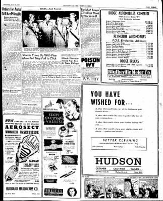 The Courier News from Blytheville, Arkansas on May 26, 1947 · Page 3