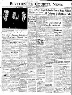 The Courier News from Blytheville, Arkansas on January 31, 1953 · Page 1