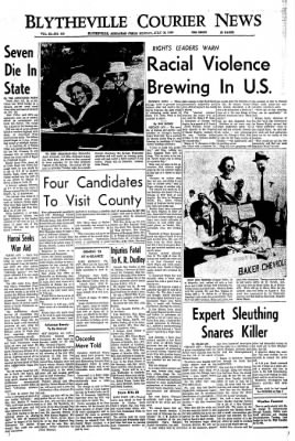 The Courier News from Blytheville, Arkansas on July 18, 1966 · Page 1