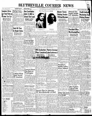The Courier News from Blytheville, Arkansas on May 27, 1947 · Page 1