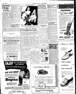 The Courier News from Blytheville, Arkansas on May 27, 1947 · Page 4