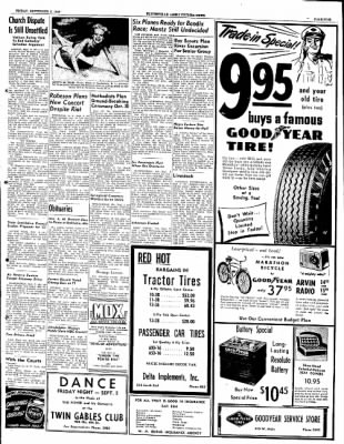 The Courier News from Blytheville, Arkansas on September 2, 1949 · Page 5