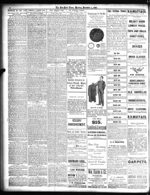 The New York Times from New York, New York on December 5, 1887 · Page 8