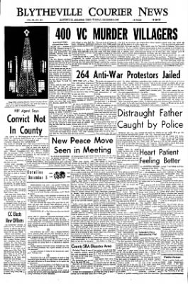 The Courier News from Blytheville, Arkansas on December 5, 1967 · Page 1