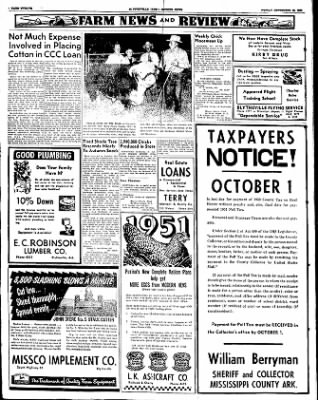 The Courier News from Blytheville, Arkansas on September 28, 1951 · Page 8