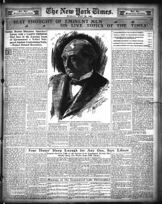 The New York Times from New York, New York on May 31, 1908 · Page 35