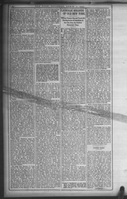 The New York Times from New York, New York on April 3, 1909 · Page 19