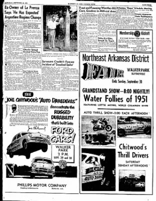 The Courier News from Blytheville, Arkansas on September 29, 1951 · Page 2