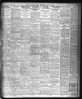 The New York Times from New York, New York on June 7, 1922