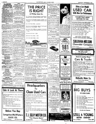 The Courier News from Blytheville, Arkansas on September 3, 1949 · Page 6