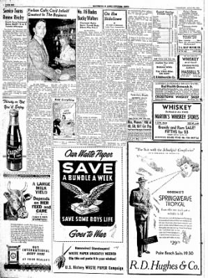 The Courier News from Blytheville, Arkansas on July 27, 1944 · Page 6