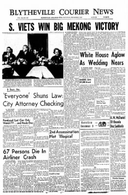 The Courier News from Blytheville, Arkansas on December 9, 1967 · Page 1