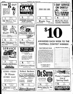 The Courier News from Blytheville, Arkansas on October 1, 1951 · Page 3