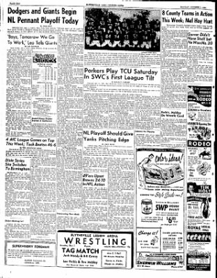 The Courier News from Blytheville, Arkansas on October 1, 1951 · Page 5