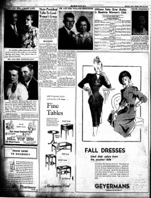Beatrice Daily Sun from Beatrice, Nebraska on September 22, 1946 · Page 4