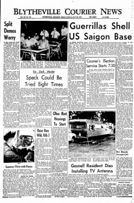 The Courier News from Blytheville, Arkansas on July 26, 1966 · Page 1