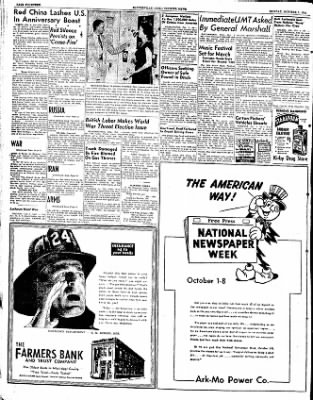 The Courier News from Blytheville, Arkansas on October 1, 1951 · Page 8