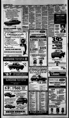 Battle Creek Enquirer From Battle Creek, Michigan On January 11, 1987 ·  Page 43
