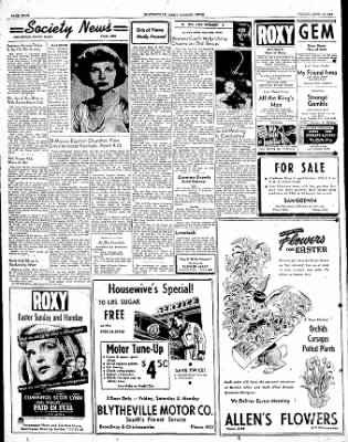 The Courier News from Blytheville, Arkansas on April 7, 1950 · Page 4