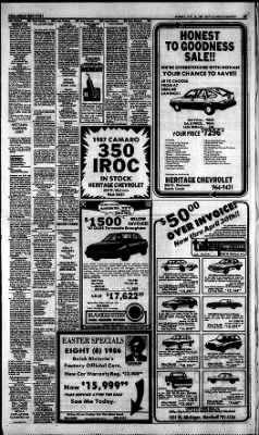 Battle Creek Enquirer From Battle Creek, Michigan On April 19, 1987 · Page  41