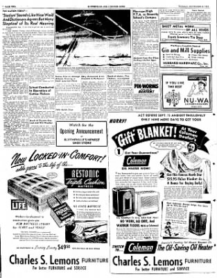 The Courier News from Blytheville, Arkansas on September 6, 1949 · Page 2