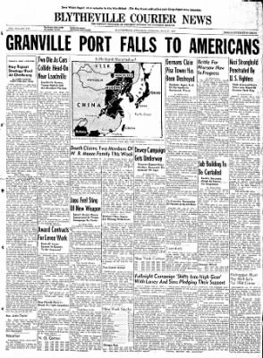 The Courier News from Blytheville, Arkansas on July 31, 1944 · Page 1