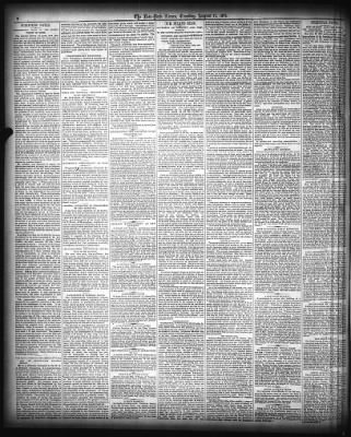 The New York Times from New York, New York on August 11, 1874 · Page 2