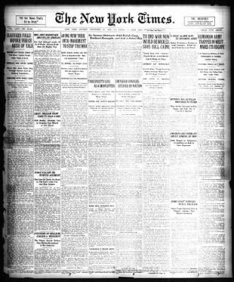 The New York Times from New York, New York on November 26, 1916 · Page 1