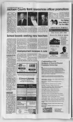 Jackson County Banner from Brownstown, Indiana on June 22, 2000 · Page 20
