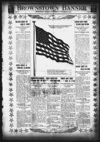 Sample Jackson County Banner front page
