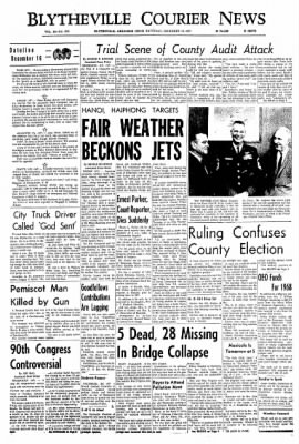 The Courier News from Blytheville, Arkansas on December 16, 1967 · Page 1