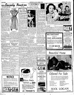 The Courier News from Blytheville, Arkansas on April 10, 1950 · Page 4