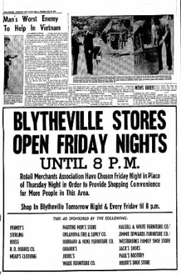 The Courier News from Blytheville, Arkansas on July 28, 1966 · Page 14