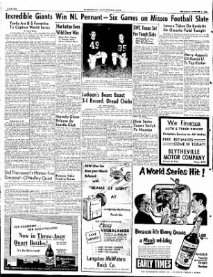 The Courier News from Blytheville, Arkansas on October 4, 1951 · Page 6
