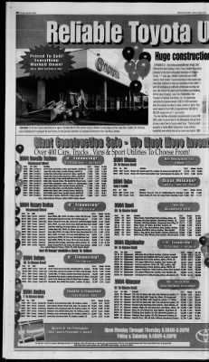The Springfield News Leader From Springfield, Missouri On April 11, 2004 ·  Page 53