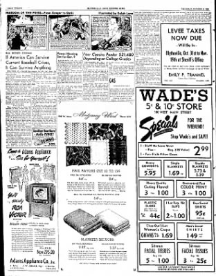 The Courier News from Blytheville, Arkansas on October 4, 1951 · Page 7