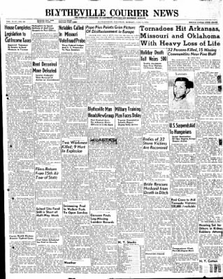 The Courier News from Blytheville, Arkansas on June 2, 1947 · Page 1