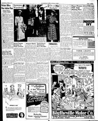 The Courier News from Blytheville, Arkansas on June 2, 1947 · Page 3