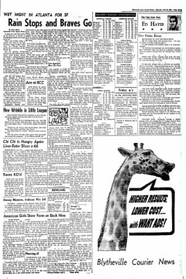 The Courier News from Blytheville, Arkansas on July 30, 1966 · Page 7